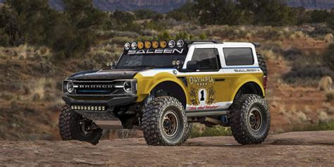 2021 Saleen Ford Bronco Inspired By Big Oly Rendering