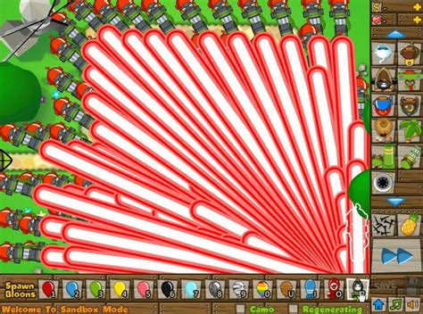 Bloons Tower Defense 5 - Ray of Doom Army VS