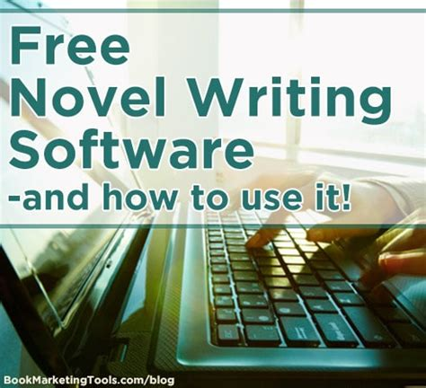 FREE Novel Writing Software – and how to use it!   Book