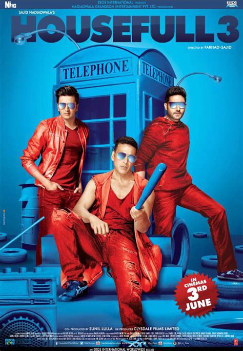 Check Out First Look Housefull 3 Posters | News