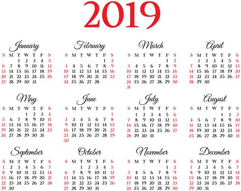 2019 Happy New Year PNG, 2019 Happy New Year Transparent