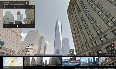 Google Street View Now Includes Historical Imagery of